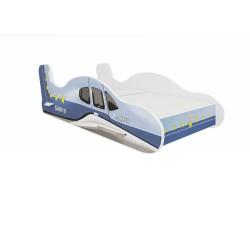 Łóżko SAMOLOT NIEBIESKI